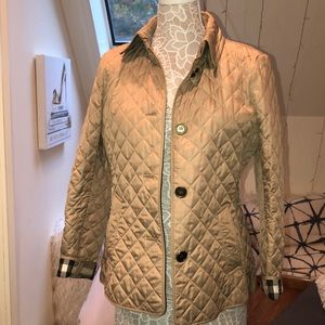 Women's Burberry Frankby Quilted Jacket